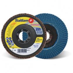 SAIT Abrasivi, Premium, Saitlam-PK Z, Disque abrasif à lamelles conique, pour Préconisations Métal